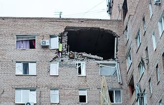 Взрыв бытового газа (предварительная версия) Оренбург 06.06.16г.