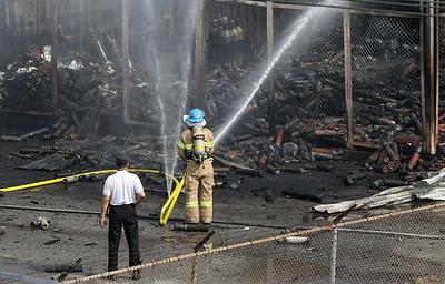 19.05.16 — Несколько взрывов газа произошло на военной базе США в Южной Корее