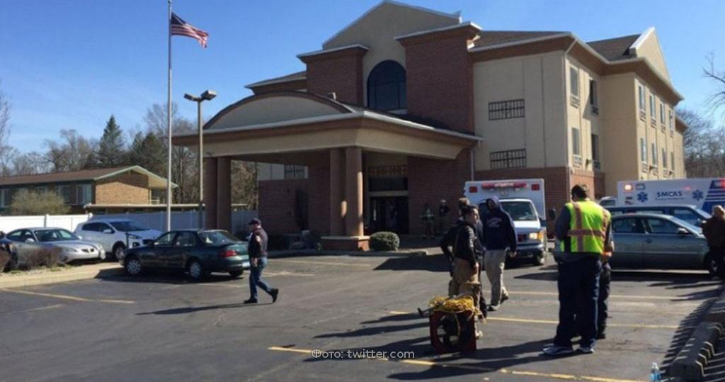 02.04.17 — шестеро детей отравились газом в гостинице в США