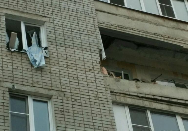 05.04.17 — взрыв бытового газа в многоквартирном доме в Ярославле.
