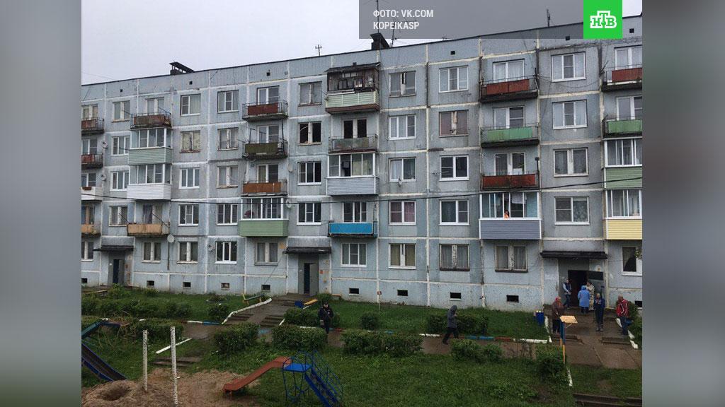 09.07.17 — взрыв газа в подмосковном Сергиево-Посадском районе в многоквартирном доме