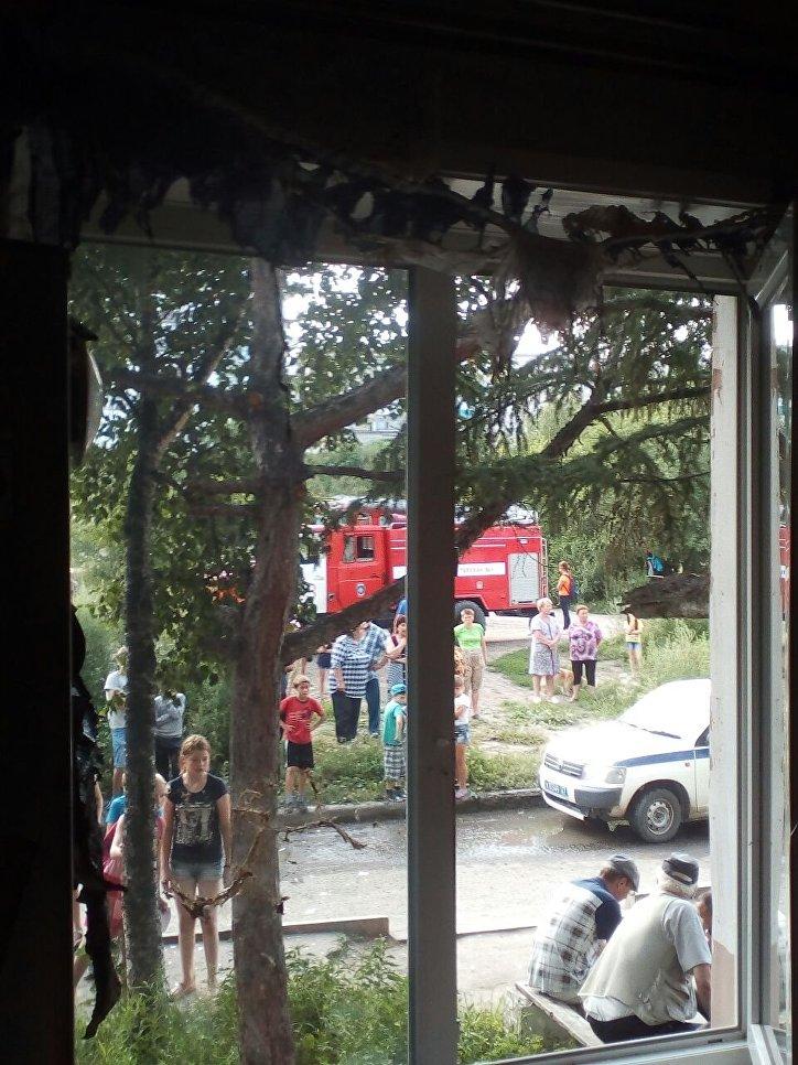 31.07.17 — взрыв газа в многоквартирном доме в Хабаровском крае