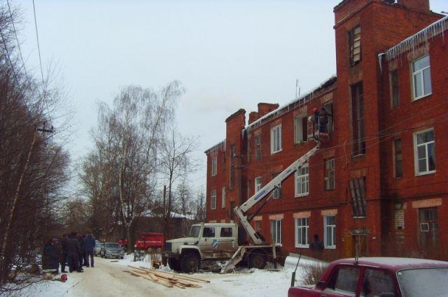 17.12.16 — взрыв газа в квартире в Струнино (Владимирская обл.)