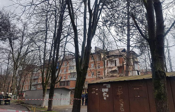 10.03.18 — взрыв газа в многоквартирном доме в Краснодаре