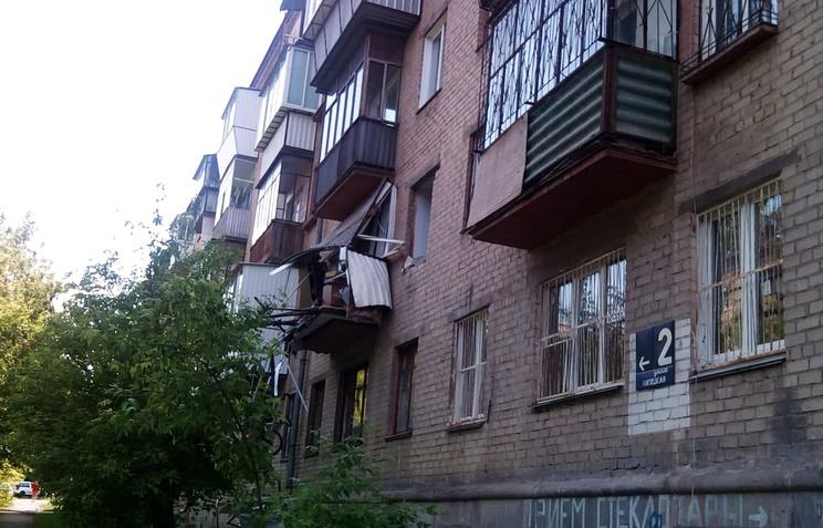 20.06.18 — взрыв газа в многоквартирном доме в Челябинске