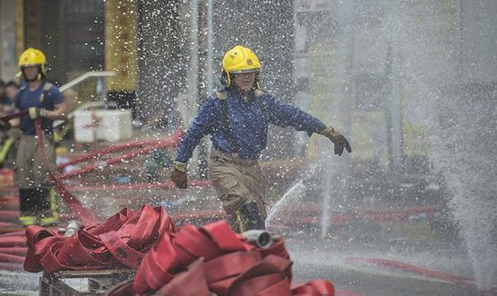 30.09.18 — взрыв газа в многоквартирном доме в Китае