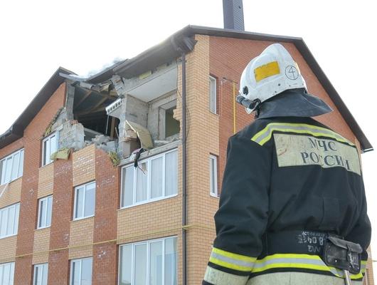 Белгородца осудили на2,5года завзрыв газа вквартире.