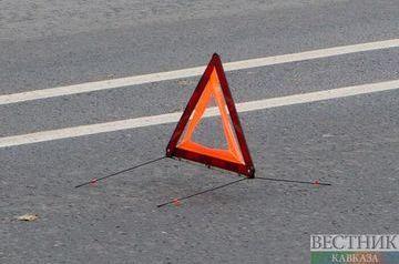 08.10.18 — повреждение газопровода в Дагестане в результате ДТП