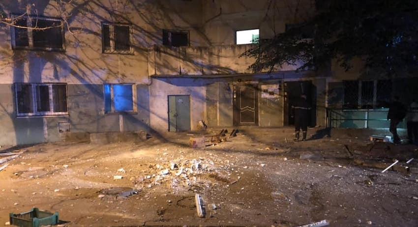 07.10.18 — взрыв газа в многоквартирном доме в Кишиневе