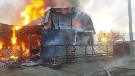 18.10.18 — взрыв газа в частном доме в Якутии