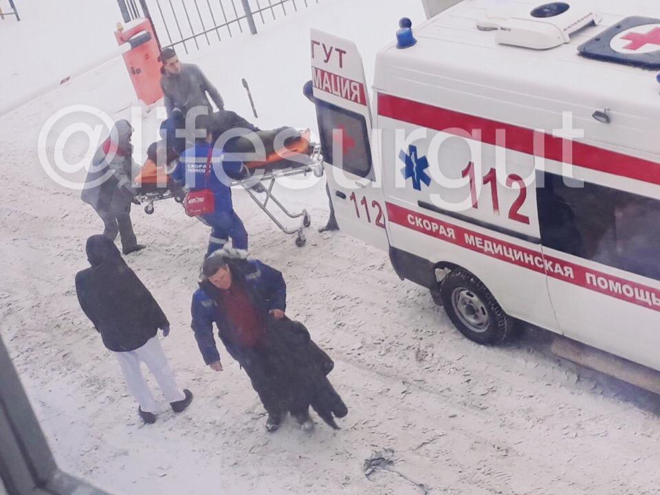 15.11.18 — взрыв газа в помещении Горводоканала в Сургуте