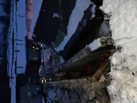 23.12.18 — взрыв газового баллона в гараже в Самарской области