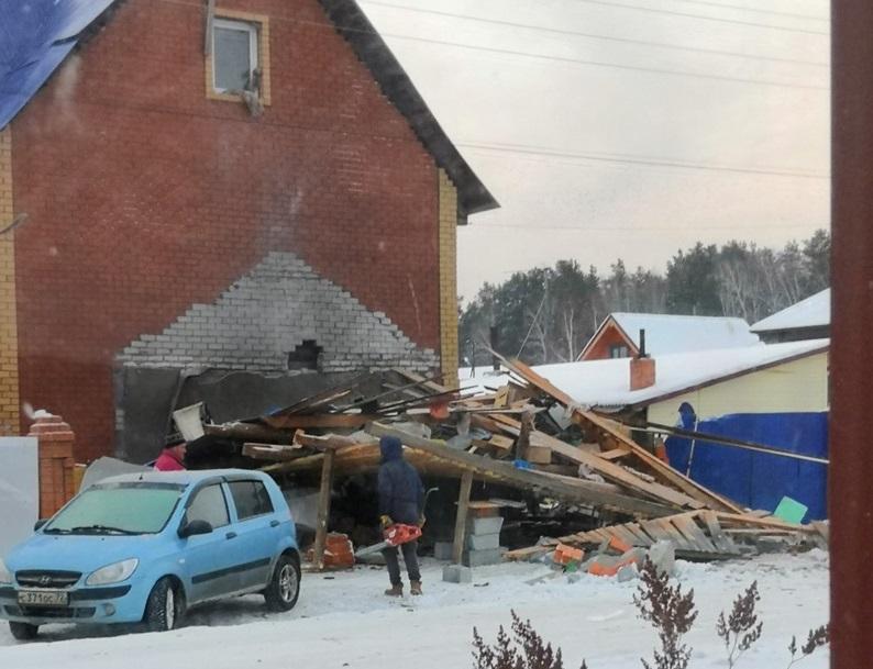 11.12.18 — взрыв в гараже под Тюменью