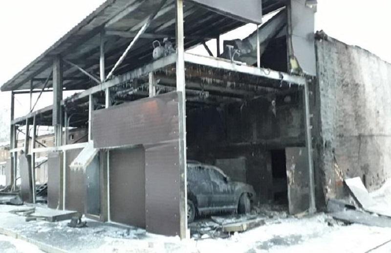 21.12.18 — взрыв газа на СТО в Новосибирской области