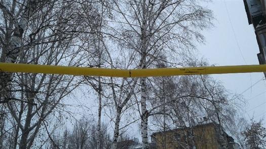 26.12.18 — при уборке снега поврежден газопровод в Самарской области