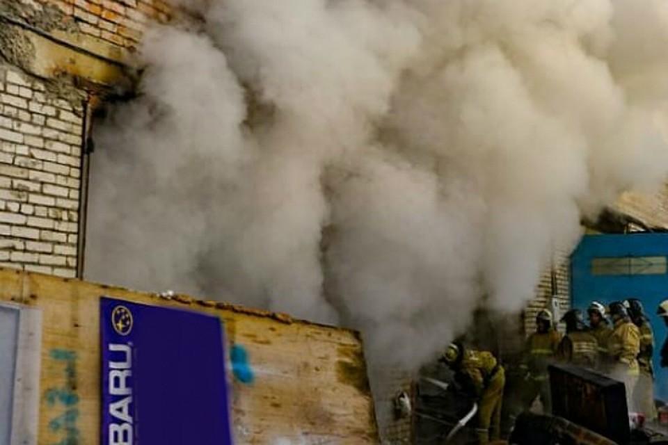 01.12.18 — взрыв газа в гаражном кооперативе в Хабаровском крае. Предварительно — неисправность газ.котла.