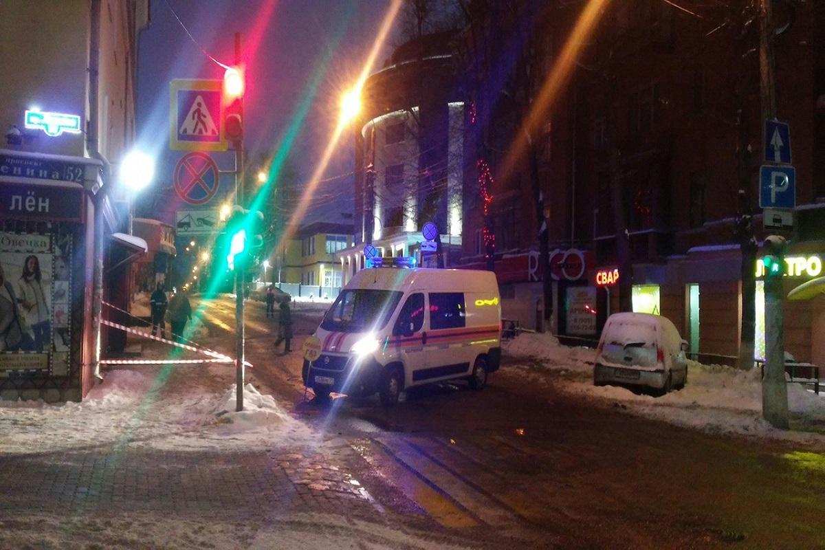 28.12.18 — повреждение газопровода и утечка газа в Туле.