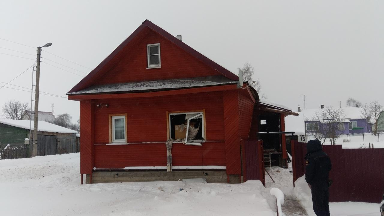 12.01.19 — взрыв газа в частном доме в Вологодской области
