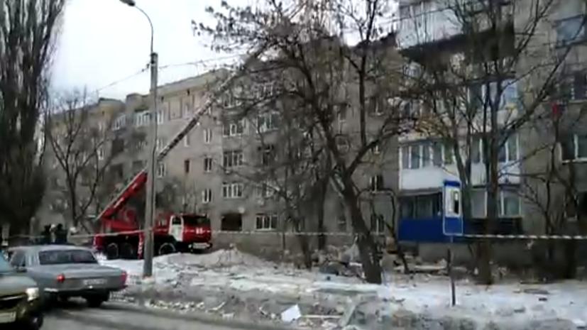 14.01.19 — взрыв газа в многоквартирном доме в Ростовской области с частичным обрушением