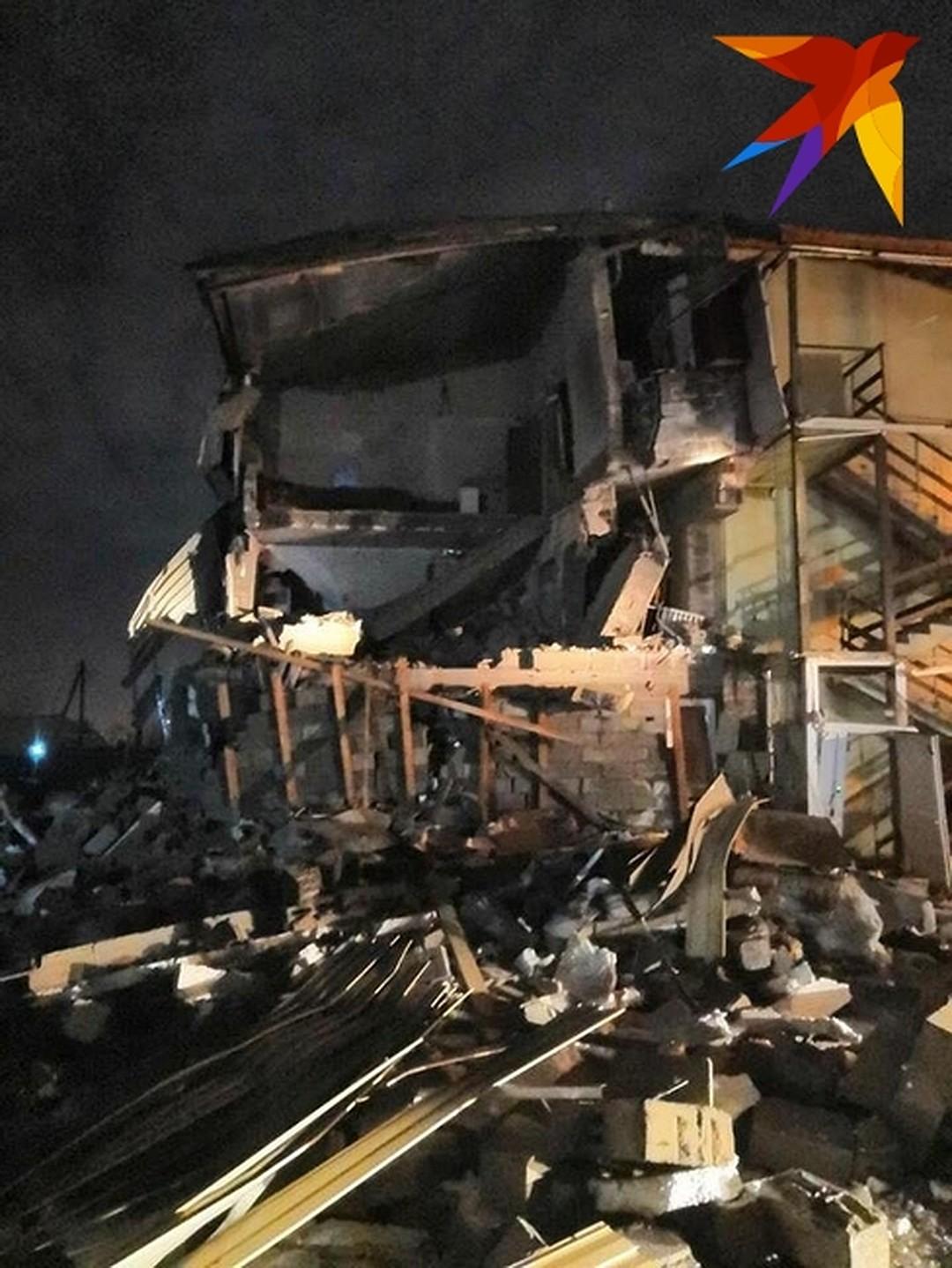 В результате взрыва пострадали несколько человек Фото: Мария МИШКИНА