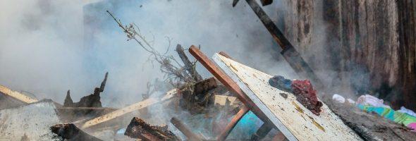 12.04.19 — взрыв газового баллона в частном доме в Самарской области