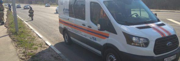 30.04.19 — утечка газа из газопровода высокого давления в Нижнем Новгороде
