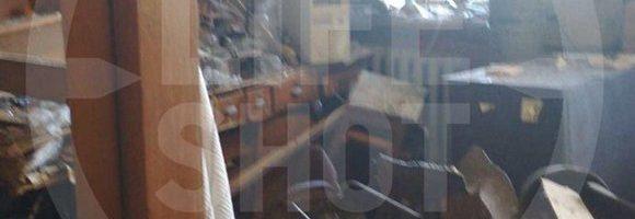 16.05.19 — взрыв баллона в институте в Москве