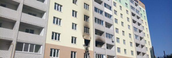 31.05.19 — взрыв газа в квартире в Саратовской области