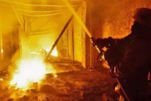 28.05.19 — утечка газа привела к пожару на металлургическом комбинате в Челябинске