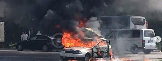 11.06.19 — взрыв газового оборудования в автомобиле в Московской области