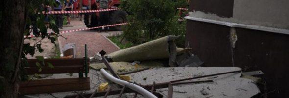 25.07.19 — взрыв газового баллона в квартире в Ленинградской области