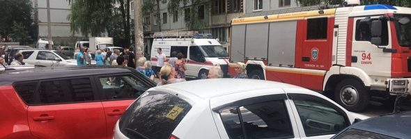 09.07.19 — взрыв газа в квартире в Самаре