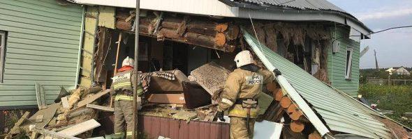17.08.19 — взрыв газа в частном доме в Свердловской области