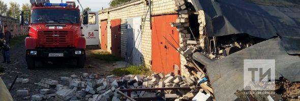 10.09.19 — взрыв газового баллона в гараже в автомобиле в Набережных Челнах