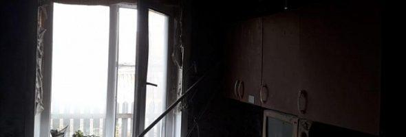 11.10.19 — взрыв газа в квартире в Новосибирской обл. (Тебисское)