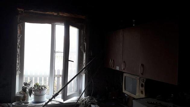 В двухэтажке в Новосибирской области произошёл хлопок газа