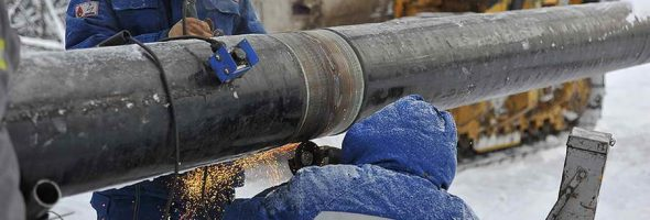 22.10.19 — повреждение газопровода выс.давления в ходе ведения земляных работ в Якутии