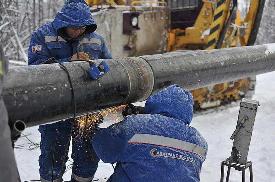 Последствия повреждения газопровода устраняют в Верхневилюйском районе Якутии