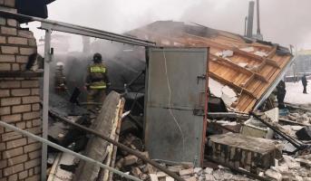 23.10.19 — взрыв газового баллона в гараже на Ямале