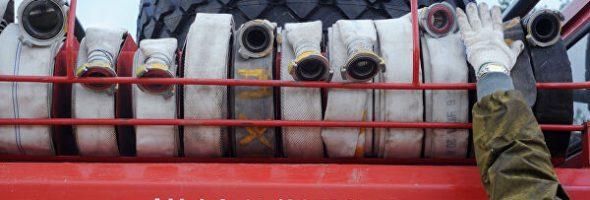 23.11.19 — утечка газа и пожар на газопроводе в Нальчике