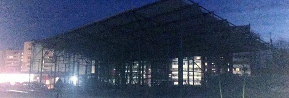 29.11.19 — повреждение газопровода высокого давления в Димитровограде в ходе ведения строительных работ