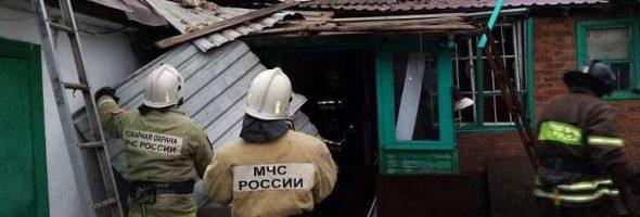 16.12.19 — взрыв газа в частном доме в Орловской области (Красная заря)