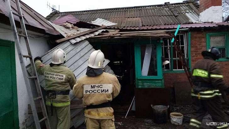 При хлопке газа в частном доме на Орловщине пострадал 87-летний мужчина