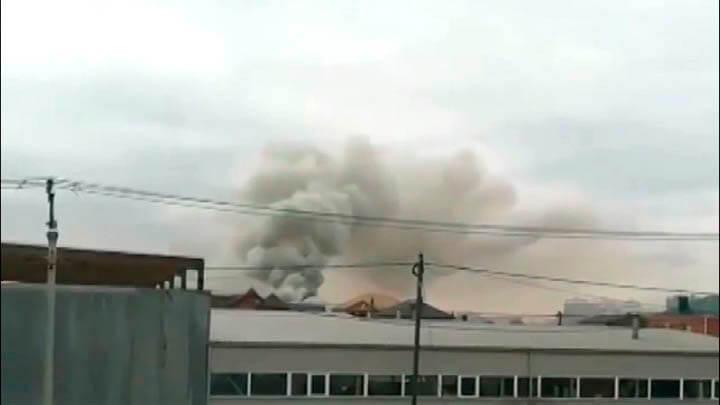 Двухэтажный дом на хуторе под Краснодаром мог загореться из-за хлопка газа