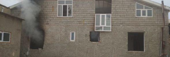 24.12.19 — взрыв газа в частном доме в Дагестане (Карабудахкент)