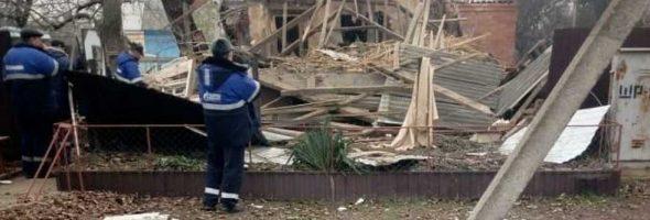 20.01.20 — взрыв газа в частном доме в Краснодарском крае (Староминская)