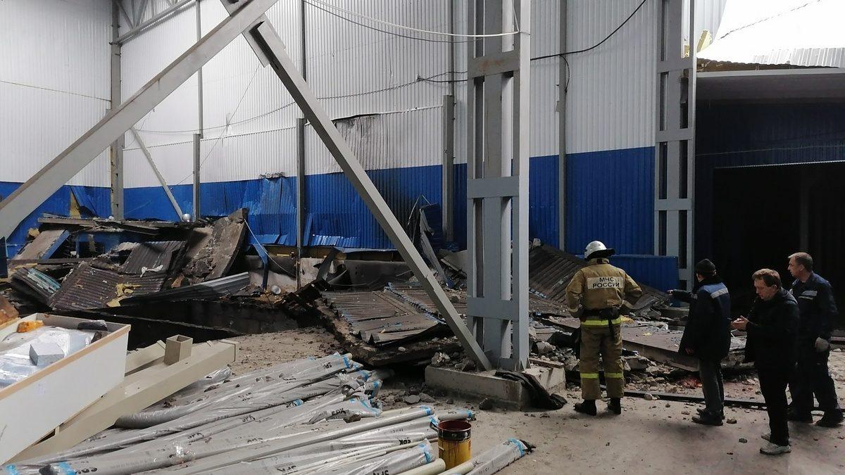 Четыре человека погибли после хлопка газа в строящемся здании под Орлом
