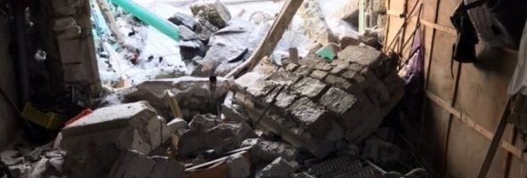 01.01.20 — взрыв газа в гараже в Нефтеюганске