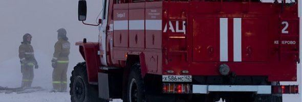 01.02.20 — взрыв газового баллона в гаражах в Кемеровской области (Новокузнецк)