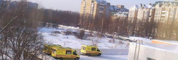 12.01.21 — отравление семьи угарным газом в многоквартирном доме в Татарстане (Казань)